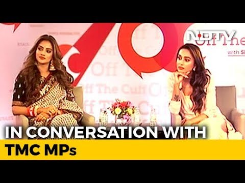 """West Bengal Not Burning"": Nusrat Jahan, Mimi Chakraborty On Off The Cuff"