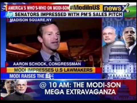 #ModiInUS: Narendra Modi wins hearts of US lawmakers