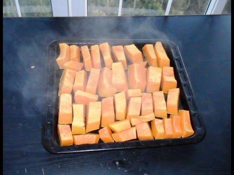 Запекание тыквы в духовке