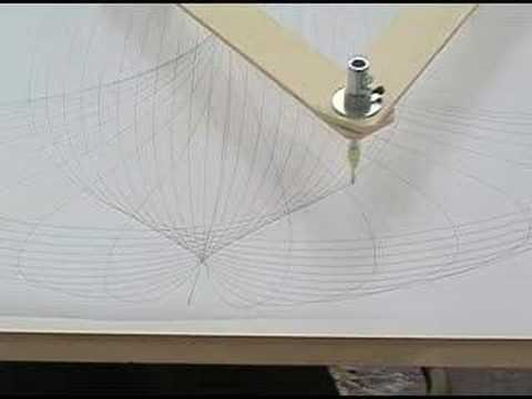 how to make a cycloid drawing machine