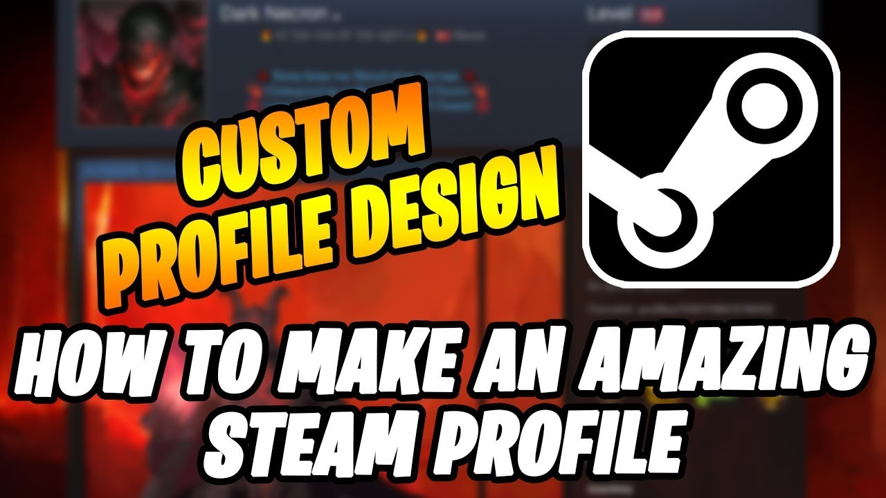 How To Make Your Steam Profile Look Professional & Awesome Tutorial  (Badges, Level, Showcases Etc)