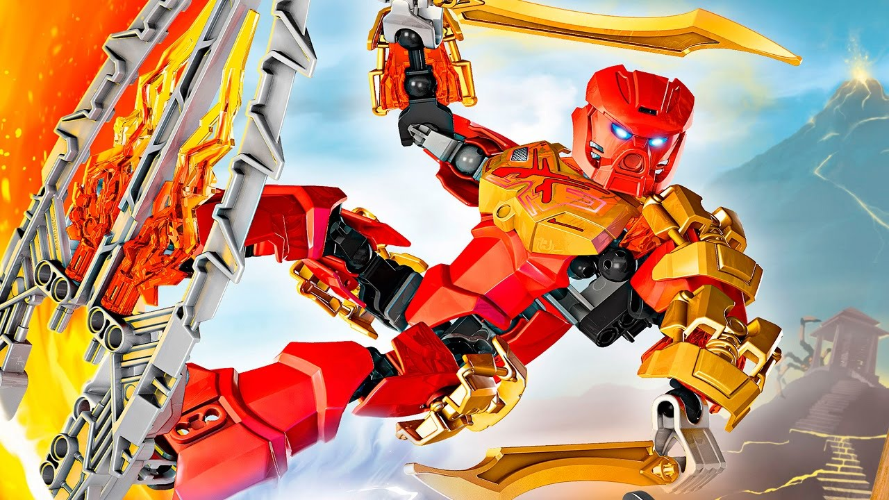 LET'S BUILD! - BIONICLE - 70787: Tahu, Master of Fire ...  LET'S BUILD...