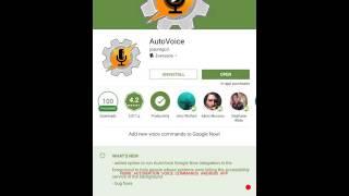 "AutoVoice Setup for ""Home Automation Voice Commands"" Android App"