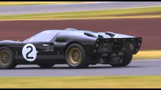 chris amon gt40 50th anniversary of victory at le mans