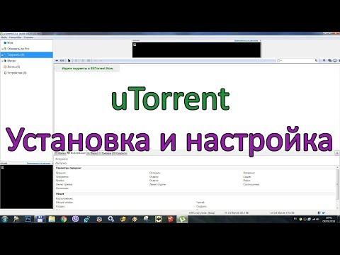Установка и настройка UTorrent Windows
