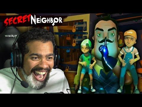 THERE'S A HELLO NEIGHBOR MULTIPLAYER GAME?! | Secret Neighbor