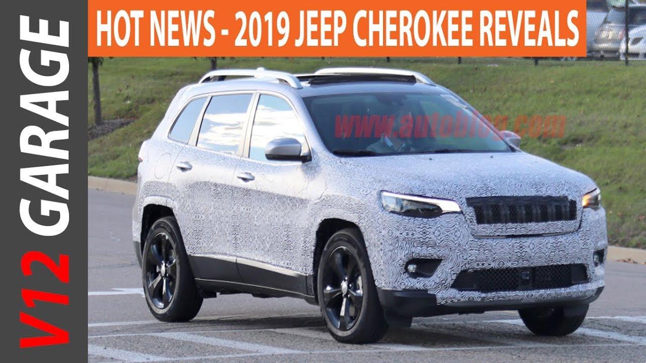 Hot News 2019 Jeep Cherokee Reveals Concept