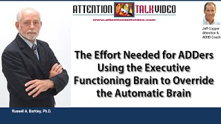 ADHD Tips: Use Your Executive Functioning Brain to Override Impulse