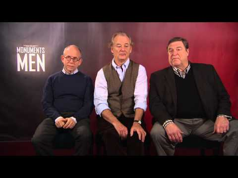 : Bill Murray, Bob Balaban & John Goodman are The Monuments Men Berlinale 2014