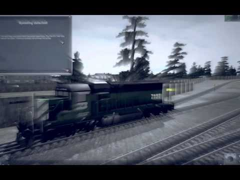 TRAINZ SIMULATOR 12 [[MLG]] PRO NOSTEAM RAILSHOTZ (HD) (KING'S XROSS)