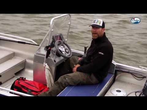 Claes Svartzonker Claesson Presenterar Sportfiskebåten Linder 445 Sportsman Catch.