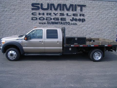 2014 FORD F450 F-450 6.7L POWERSTROKE WISCONSIN FOND DU LAC $37,999 SOLD! 9005 www.SUMMITAUTO.com