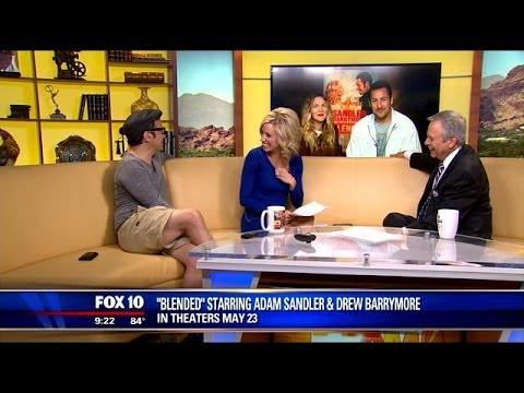 Talking with Adam Sandler, Drew Barrymore & Rob Schneider