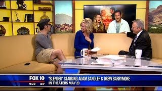 Talking with Adam Sandler, Drew Barrymore & Rob Schneider
