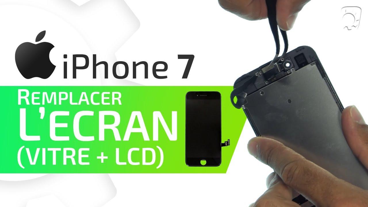 Tutoriel Iphone 7 Remplacer L écran Standard Vitre Tactile écran Lcd Hd