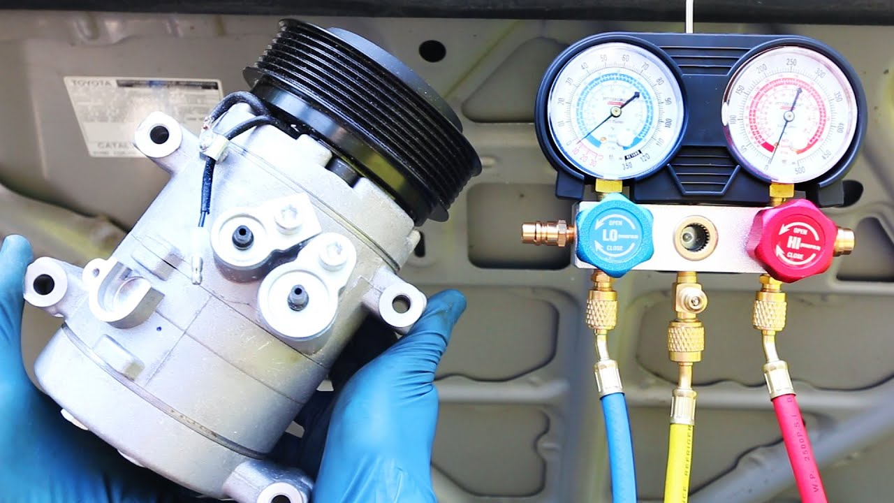 hight resolution of how to replace an ac compressor in your car