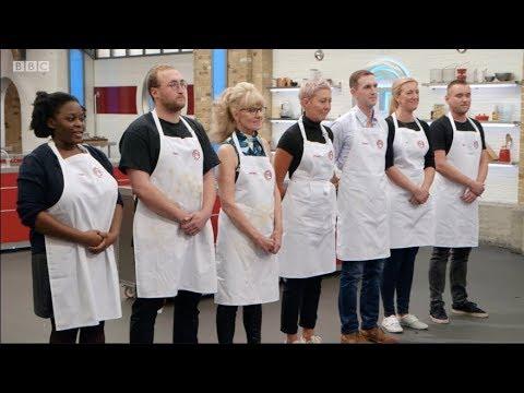 MasterChef UK, Series 14, Episode 8. BBC. 15 Mar 2018. Judges John Torode and Gregg Wallace