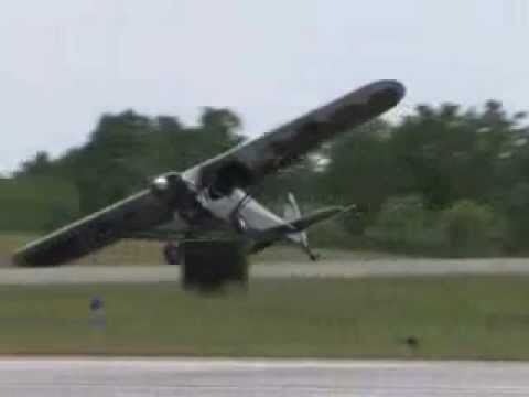 drunk guy steals a plane at an airshow! CRAZY!