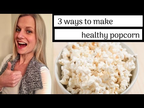 Oil-Free Popcorn | 3 Different Methods & Healthy Seasonings! Mp3