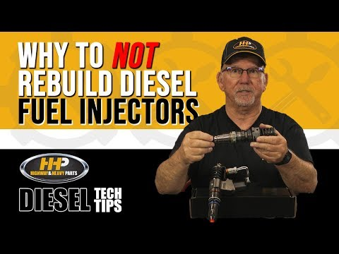Why to Not Rebuild Fuel Injectors for your Diesel Engine, Highway and Heavy Parts!