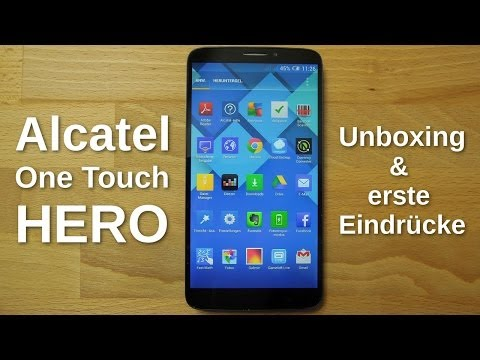 Alcatel One Touch Hero: Unboxing und Kurztest - www.technoviel.de