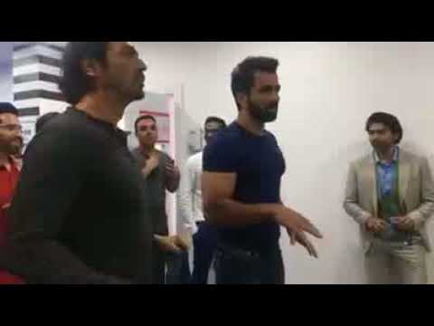 Arjun Rampal in Dubai at Paltan Press Confrience