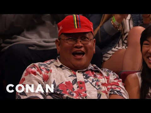 Audience Member Theme Song: Samoan Steve Urkel Edition  - CONAN on TBS