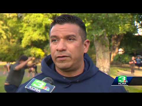 Workout like an officer: Sacramento police hold weekly bootcamp