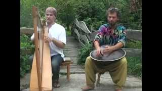 Alizbar  Christian Amin Varkonyi   Celtic harp ft  Hang