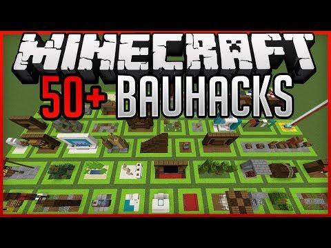 50+ Bauhacks ✨ Minecraft 1.14.4 ✨ErikOnHisPeriod