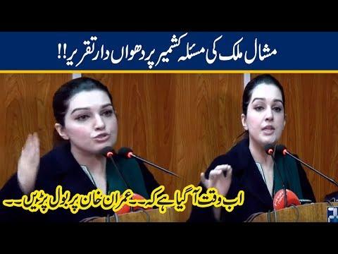 Mishal Malik Blasting Press Conference On Kashmir | 30 Nov 2019