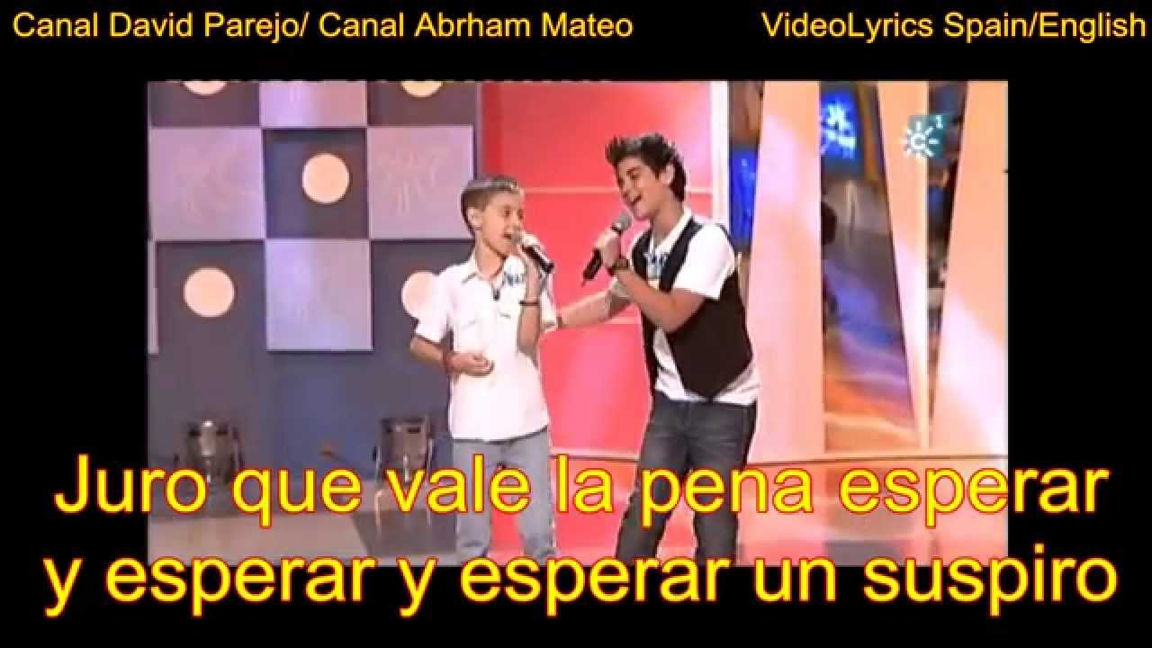 David Parejo Y Abraham Mateo Yo No Me Doy Por Vencido Lyrics Youtube