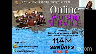Worship Service, Sunday January 10 2021; It Is the Lord's Will, Let Him Do What's Best