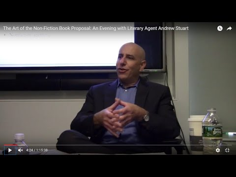 The Art of the Non-Fiction Book Proposal: An Evening with Literary Agent Andrew Stuart
