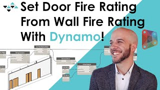 Set Fire Rating From Walls to Doors with Dynamo