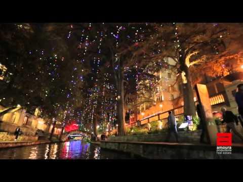 2015 San Antonio Riverwalk Holiday Lights Tour