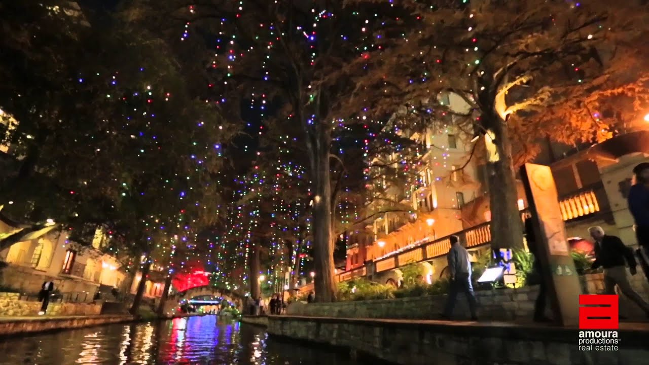 2015 san antonio riverwalk holiday lights tour