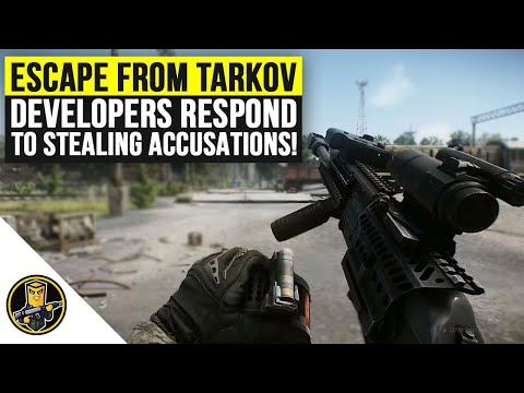 Battlestate Games Responds To Stealing Accusations! (Escape From Tarkov 2020)