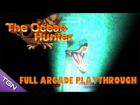 The Ocean Hunter Arcade Game - Full Playthrough (Sega Arcade
