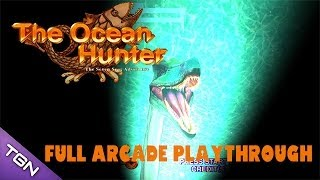 The Ocean Hunter Arcade Game - Full Playthrough (Sega Arcade Classic)