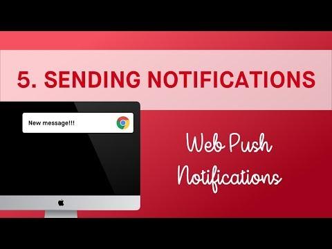 Sending Push Notifications | Web Push Notifications with Firebase (5/6)