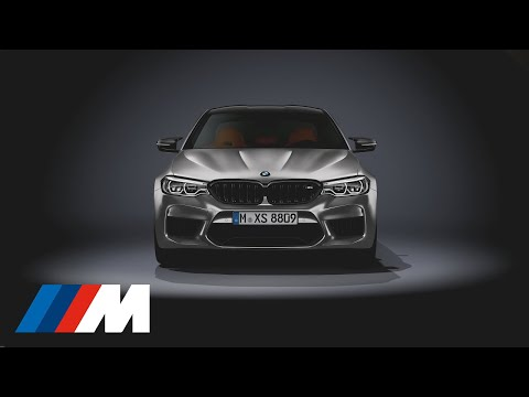 The all-new BMW M5 Competition at a glance.