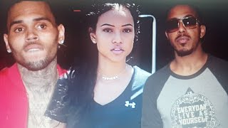 Chris Brown And Marques Houston Battle For Karrueche Tran