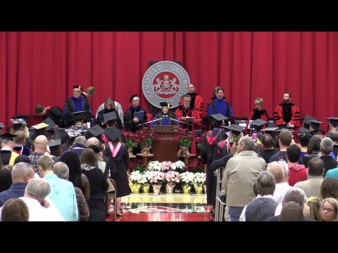 Mansfield University of Pennsylvania Fall Commencement 2018