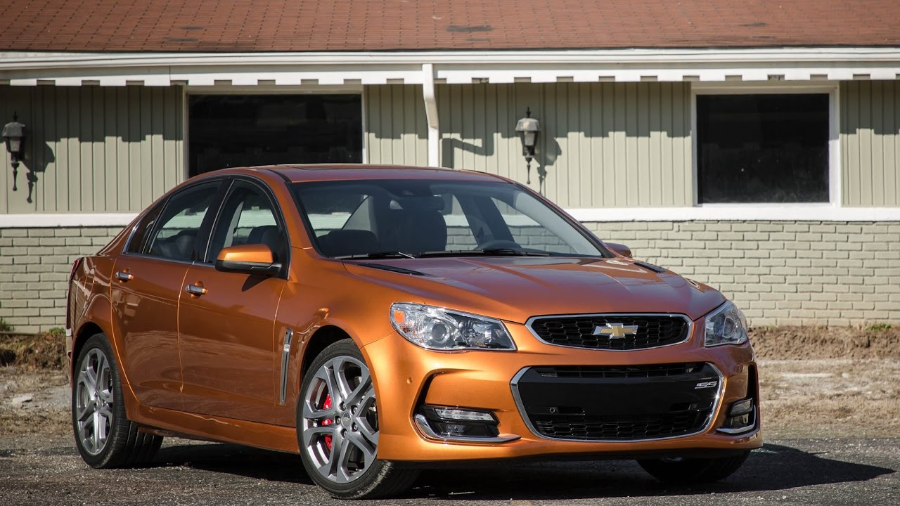 Chevrolet Ss Manual 2018 Car Review Youtube