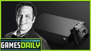 Xbox Boss Gives New Scarlett Details - Kinda Funny Games Daily 08.16.2019