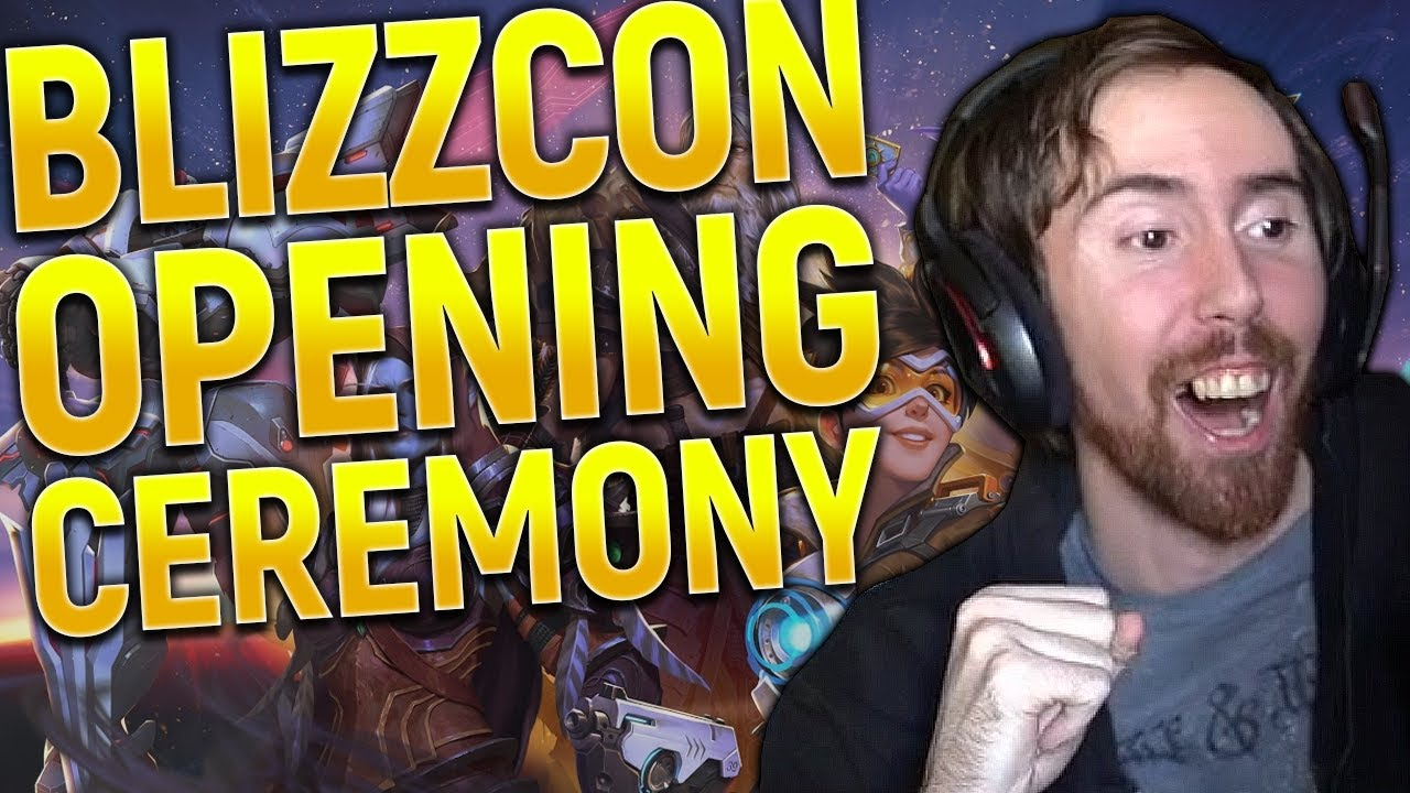 Asmongold BLIZZCON OPENING CEREMONY REVEALS! Diablo 4, World of Warcraft, Overwatch 2!!