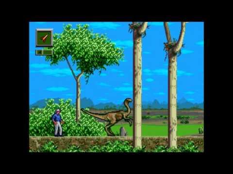 Jurassic Park: The Arcade Game (Sega-AM3) - Gun Playthrough (1/2)