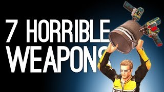 7 Horrible Weapons You're Definitely the Bad Guy for Using
