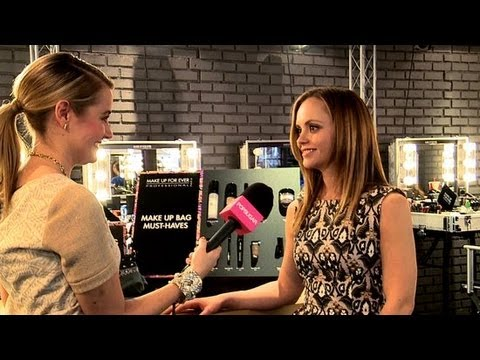 Christina Ricci Shares Best Beauty Advice, Makeup Memories, and Weekend Style | Beauty Beat